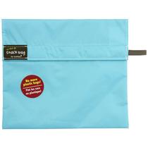Kushies On The Go Snack Bag, Aqua, Large