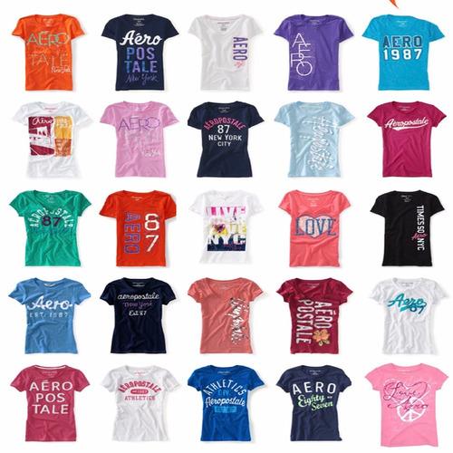 Lote 50 Blusas Playeras Aeropostale Mujer 2018 Envio Gratis -   3799 ... e94137b30388d
