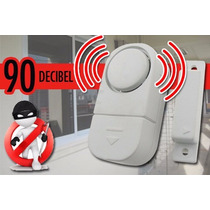 Alarma Electronica Puertas Y Ventanas De 90 Db 4 Pzas X 100