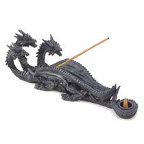 Figura De Dragon Para Poner Incienso Blakhelmet Sp