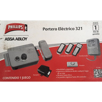 Portero Electrico En Kit Phillips Assa Abloy