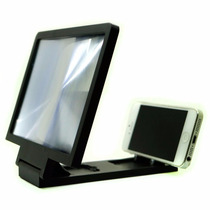 Soporte Celular Proyector Video 3x Lupa Smartphone Iphone