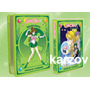 Sailor Moon, Paquete Talk Box´s Volumen 1, 2, 3, 4 En Dvd