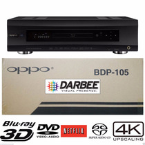 Oppo Bdp-105d Edición Darbee 4k 3d Reproductor Blu-ray