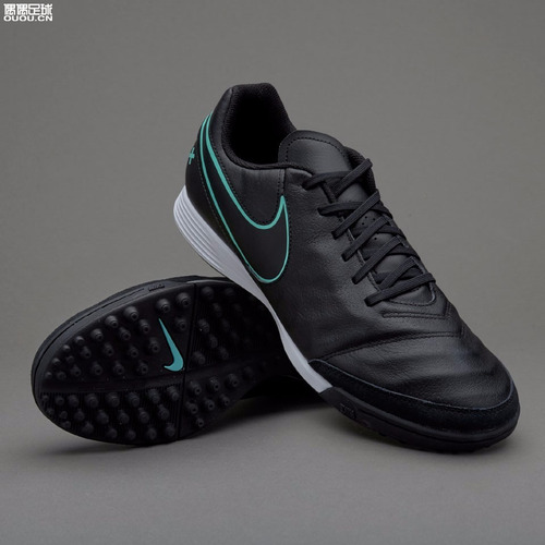 e68138608c Tenis Nike Performance Tiempo Genio Ii Negro-verde 2016 $1999 c5miL ...
