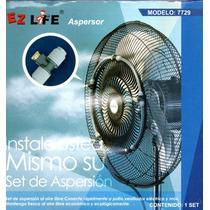 Kit De 5 Aspersores Para Instalar En Ventiladores Palapas