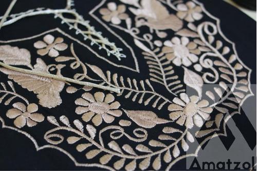 af491643d Lote 6 Blusas Artesanales Mexicanas Corte Kimono Y Flores. Precio    1440  Ver en MercadoLibre