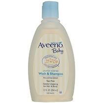 Aveeno Bebé Lave Y Shampoo 12 Onza Líquida