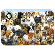Fifty One Perros De Cristal Tabla De Cortar Grande Bdba0441l
