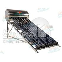 Calentador Solar 145 Litros. Acero Inoxidable. 12 Tubos