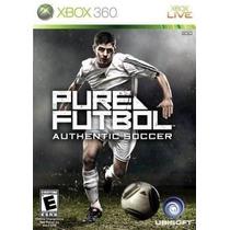 Pure Futbol: Authentic Soccer - Xbox 360 +++