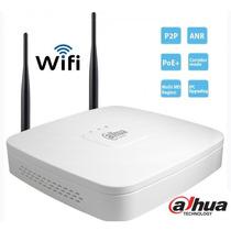 Nvr 4 Canales De Video Ip Wifi/ 80mbps Graba