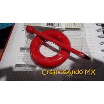 Broche De Madera Para Chales Y Tejidos Mod Dona Rojo