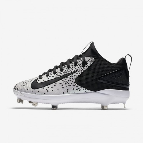 efd09b924 Nike Mike Trout 3 Luminescent Spikes Baseball Negro Blanco en venta en  Tláhuac Distrito Federal por sólo   1399