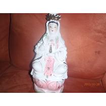 Figuras De Porcelana Diosa China Kuan Yin