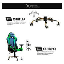 Venta Reclinable Xzeal Ergonomica Stylos En 200kg Gaming Gamer Silla knwP0O
