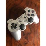 Control Ps3 Original Plata