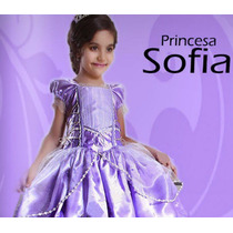Vestido Princesa Disfraz Princesa Sofía Tallas 10 Y 12