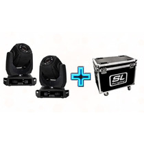 2 Cabezas Moviles Roboticas 2r + Case