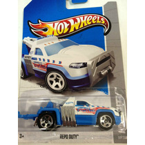 Grua Repo Duty, Hw City De Hotwheels 2013 #50/250
