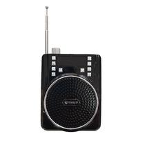 Bocina Usb Megáfono Portatil Altavoz Recargable Radio Graba