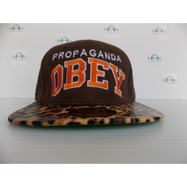 Gorra Obey Leopard Brown Talla Ajustable 100% Original