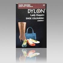 Tinte Del Zapato - Dylon Color Marrón Oscuro Botas De Cuero