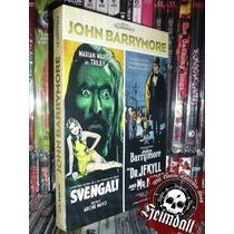 Pack John Barrymore 2 Dvd + Libreto Svengali Dr Jekyll Hyde