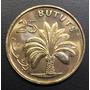 Gam004 Moneda Gambia 25 Bututs 1971 Unc-bu Ayff