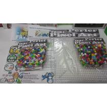 Kit Basico Pixel Art 1800 Cuentas Perler, Hama Base, Pinzas