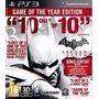 Batman Arkham City Ps3 Goty Ultimate Incluye Catwoman Packs