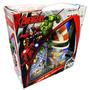 Juego De Tazas The Avengers Iron Man Hulk Capitan America