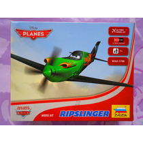 Disney Aeroplanos Avion Ripslinger Armable Escala 1/100