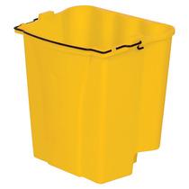 Cubeta Agua Sucia Combos 18 Cuartos Amarillo Polipropileno