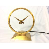 Hermoso Reloj Antiguo Alemán Misterio Jefferson Golden Hour