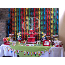 Mesa De Dulces Botana Candy Bar Snack Table Fiesta Tematica