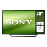 Smart Tv Sony Bravia Kdl-40w650d Led Full Hd 40