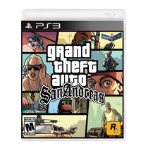 °° Grand Theft Auto San Andreas Para Ps3 °° En Bnkshop