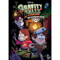 Gravity Falls: Six Strange Tales Libro Mystery Book + Dvd R1