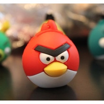 Usb 8gb Figura Games Angry Bird Red