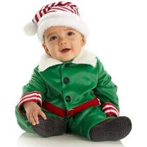 Disfraz De Duende De Santa Claus, Navidad Para Bebes