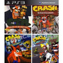 Crash Bandicoot 1, 2, 3 + Crash Team Racing En Español  Ps3