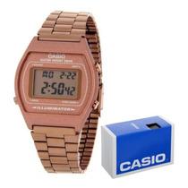 167e3bda8 Reloj Casio Retro Vintage B640 Oro Rosa Original Alarma Luz en venta ...