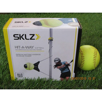 Sklz Hit A Way Softball / Entrenador De Bateo Softbol Adulto