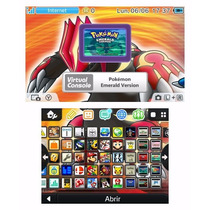 Nintendo 3ds Rojo Con + 1000 Juegos Pokemon Smashbros Mario