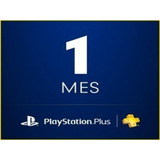 Ps Plus 1 Mes Ps4 Psn $10 Pesos Playstation  *no Codigo*