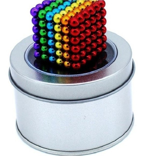 Cubo Magnetico 216bolitas De 5mm Iman