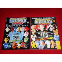 Luchas 2000 Especial Mascara Vs Mascara Lote De 2 Ejemplares