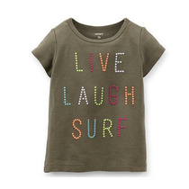 Playera Live Laugh Surf De Bebe Carter