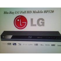 Reproductor Dvd / Blu -ray, Bp120. Marca Lg Nuevo. Reg.papa